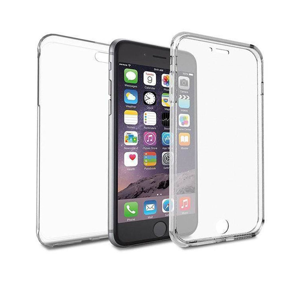 Image of   iPhone 6 Plus Transparent Plast Cover (Blødt) (360 Grader)