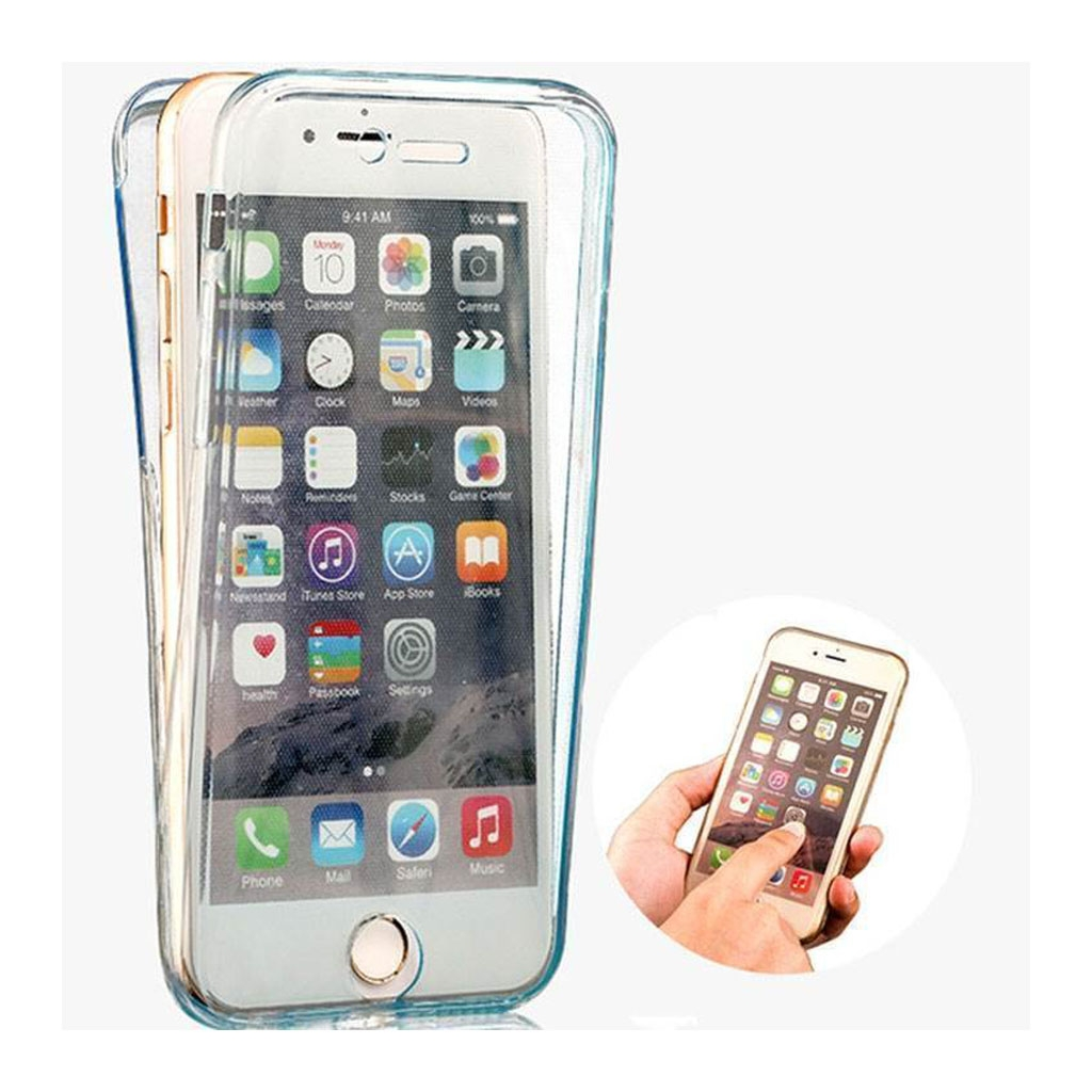 Image of   iPhone 6/6S Transparent Plast Cover (Blødt) (360 Grader)