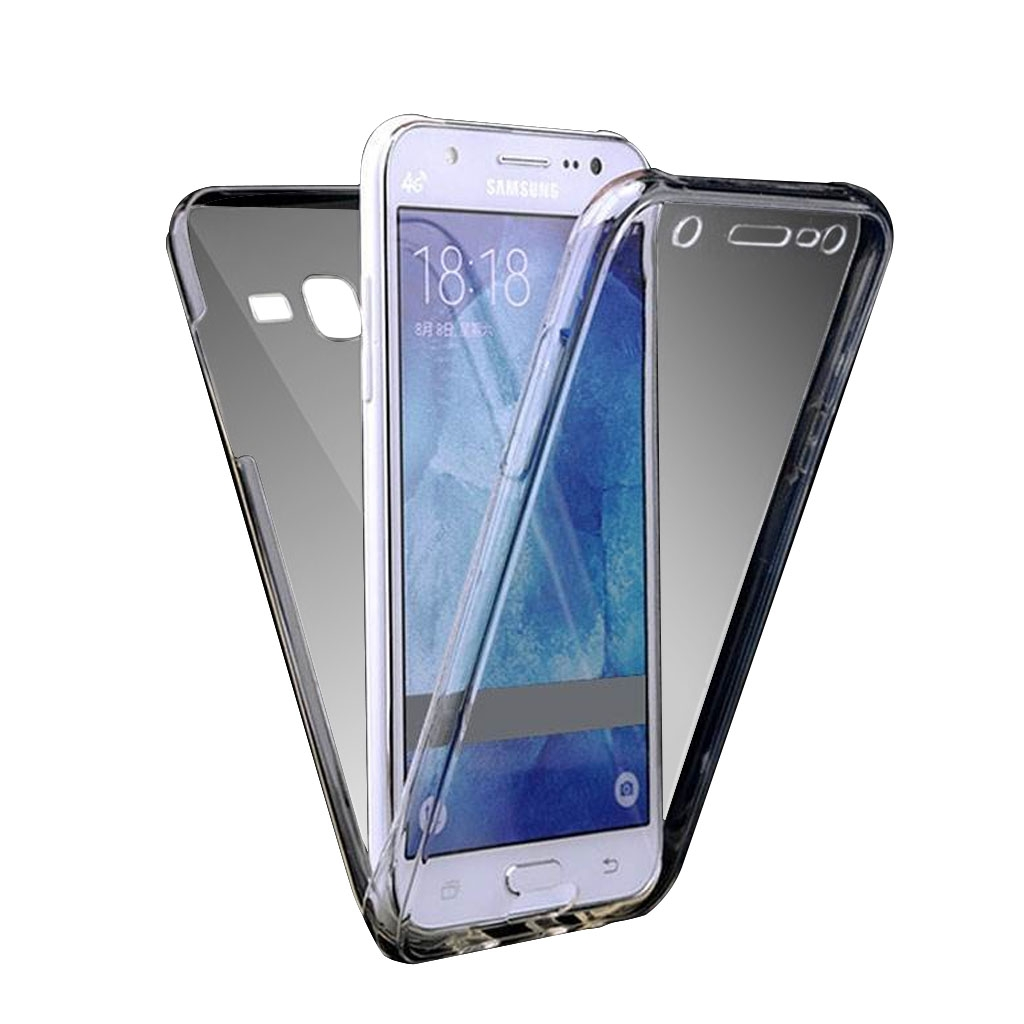Image of   Samsung Galaxy J5 (2016) Transparent Plast Cover (Blødt) (360 Grader)