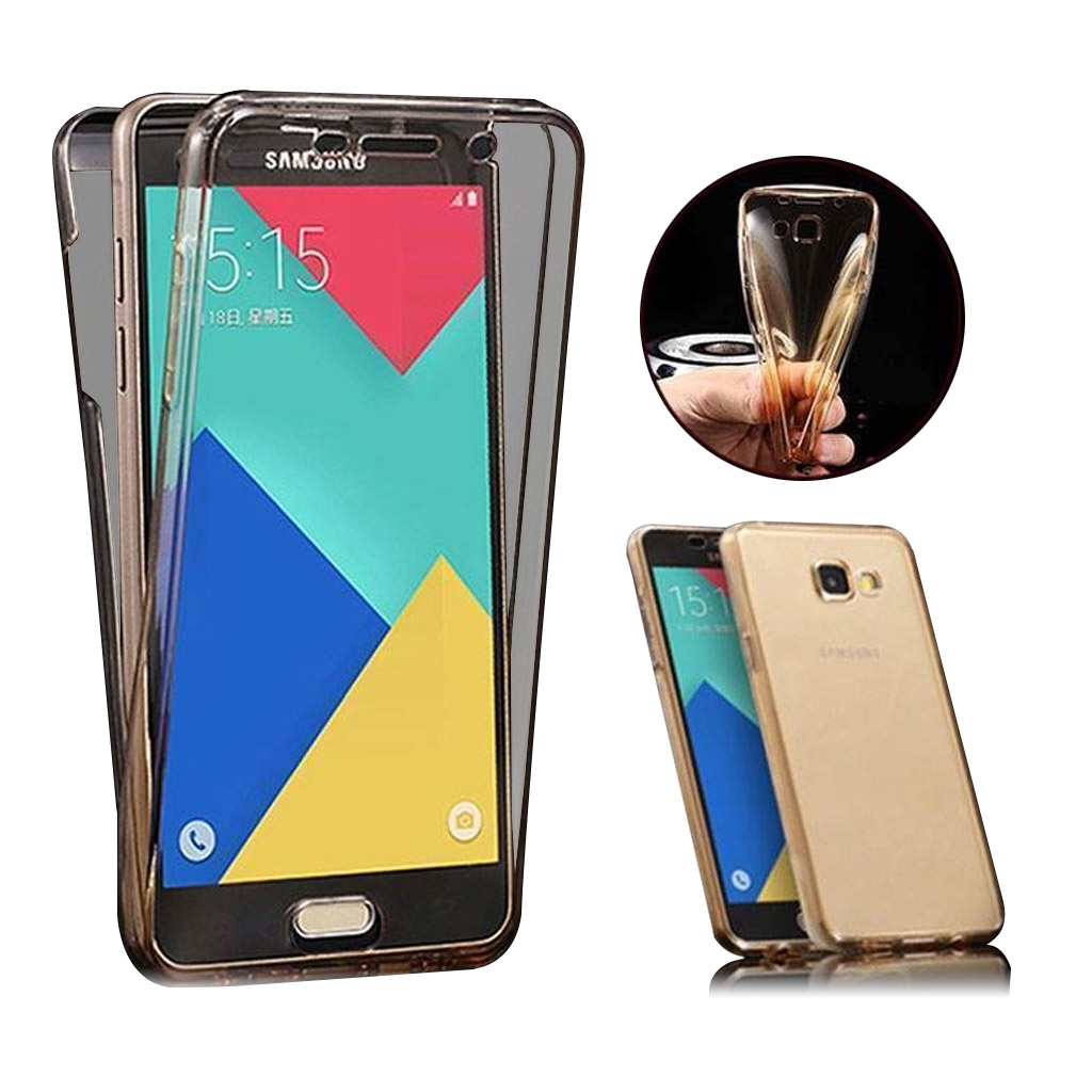 Image of   Samsung Galaxy A3 Transparent Plast Cover (Blødt) (360 Grader)