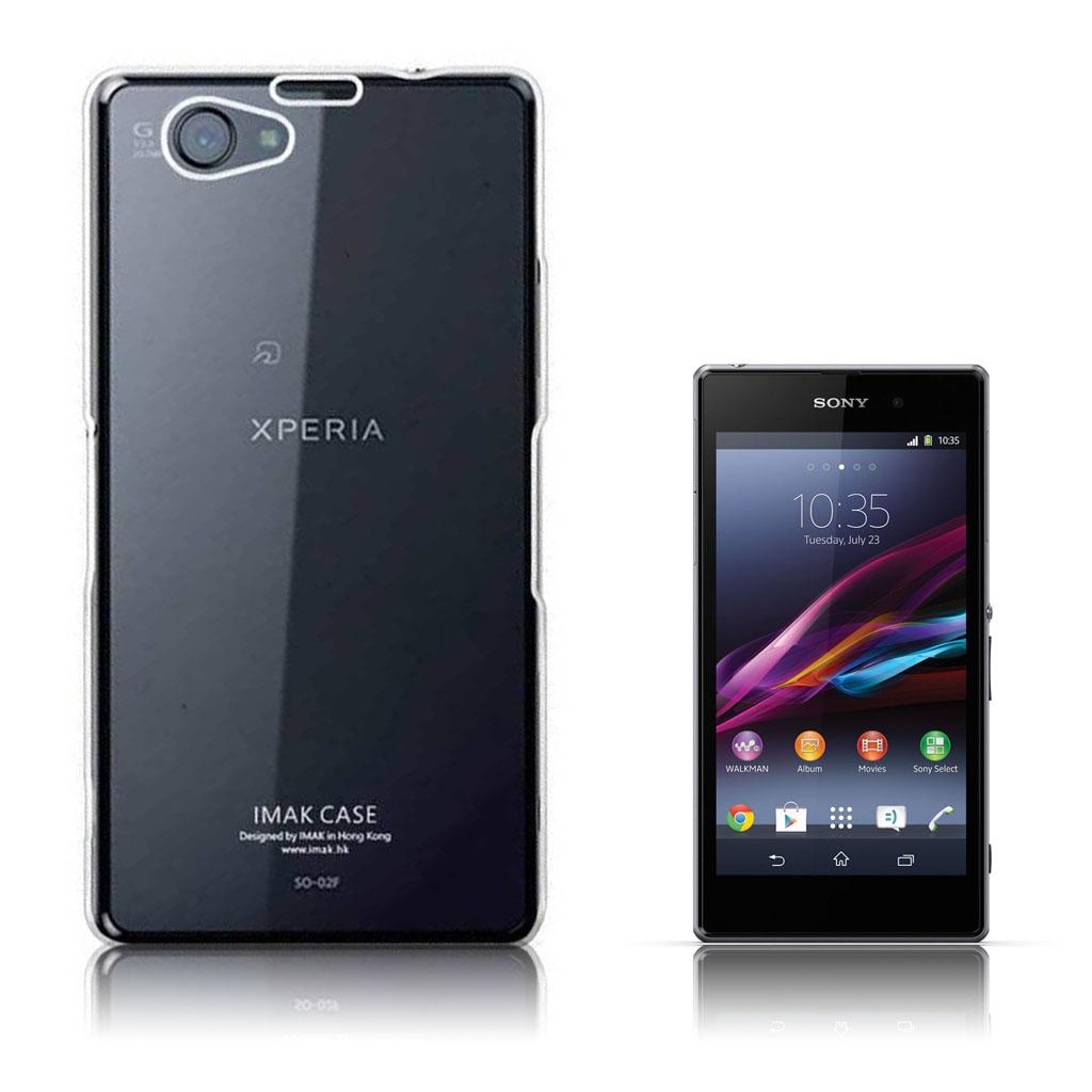 Sony Xperia Z1 Transparent Plast Cover (Blødt)